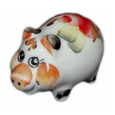свинка малая цветная, 4.8 см