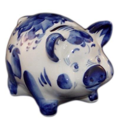 свинья-копилка 9.5 см.