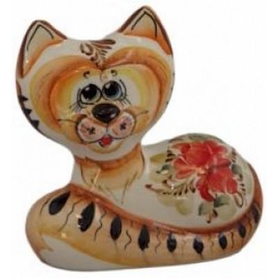 кошка из фарфора 10.5 см