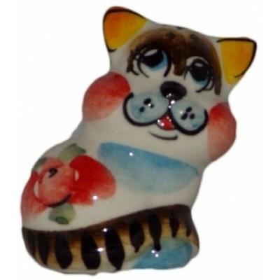 Кот цветной 4.5 см
