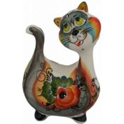 кот с кошкой цветные 24 см