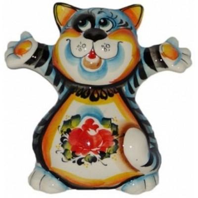 кот цветной 13.5 см