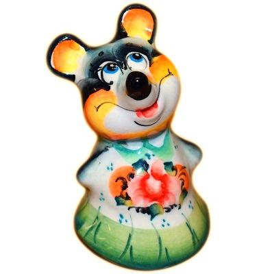 Мышка девочка сувенир 2020
