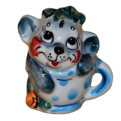 Сувенир года мышка в чашке