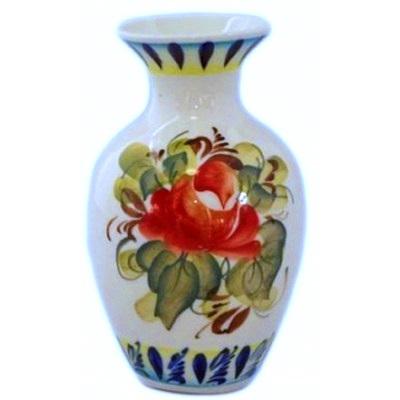 Малая цветная вазочка