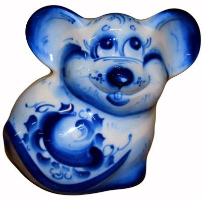 Мышь сувенирная