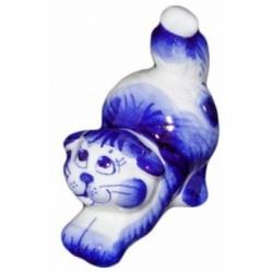 Кошка гжель 8.5 см