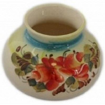 Малая вазочка с цветной росписью